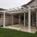 Steele Construction of Central Florida can create a Pergola in your backyard